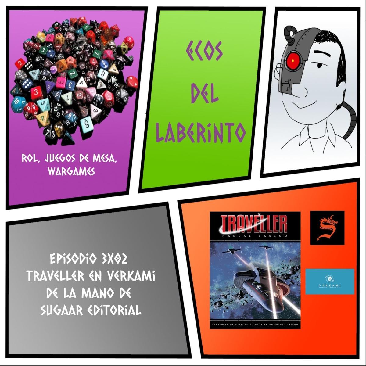Traveller en Verkami – Ecos del Laberinto3×02