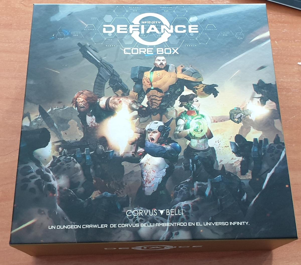 Unboxing de InfinityDefiance
