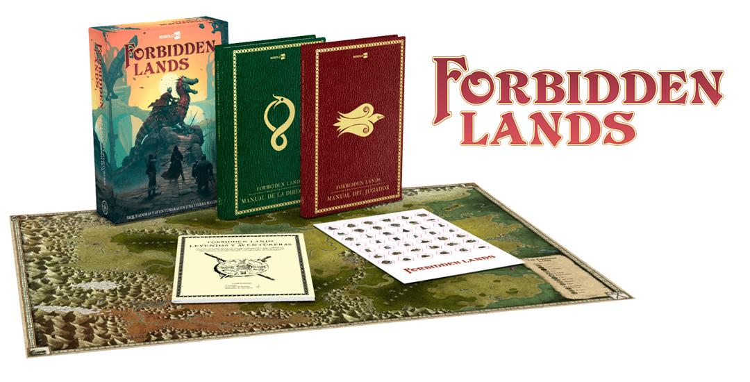 Abriendo la llenísima caja de Las Tierras Prohibidas (ForbiddenLands)